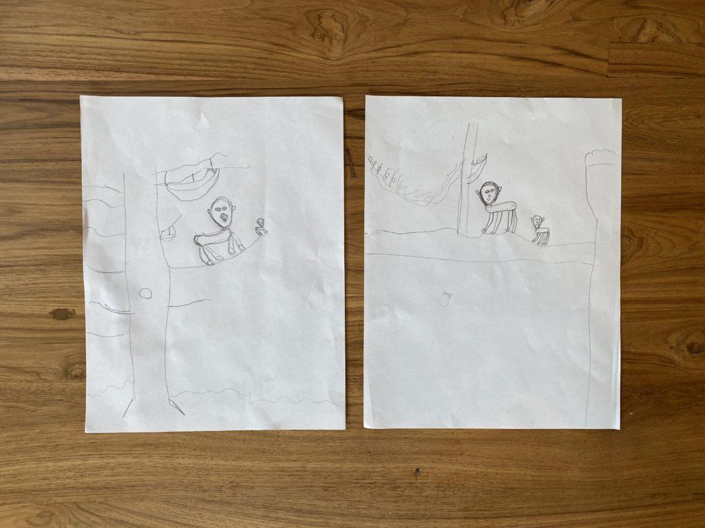Gorilla Drawings