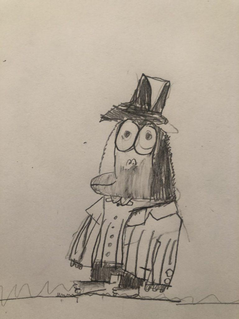 Lydia's Mr.Big gorrila art