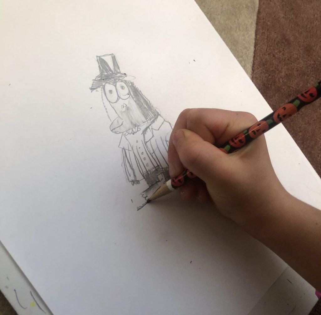 Drawing Mr. Big's body