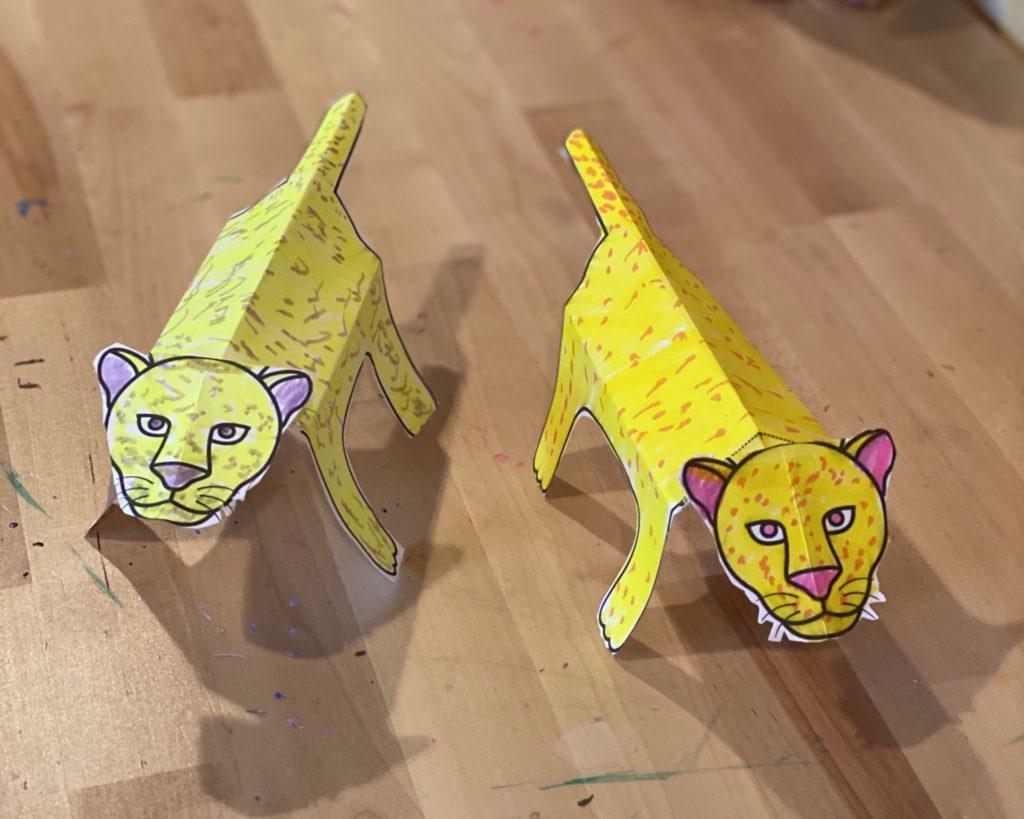 Complete cheetah craft